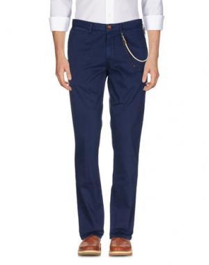 Повседневные брюки WEB. Цвет: темно-синий