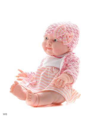 Кукла-пупс, Варюшка 38см Lisa Jane. Цвет: розовый