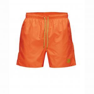 Шорты пляжные JACK AND JONES TECH. Цвет: оранжевый