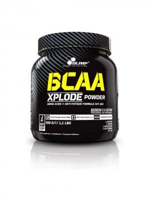 Аминокислоты OLIMP BCAA Xplode  500г (лимон) Nutrition. Цвет: черный