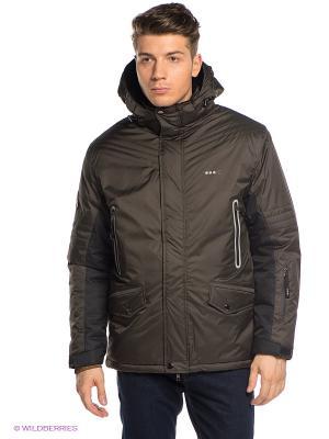 Куртка ADDIC. Цвет: хаки, черный