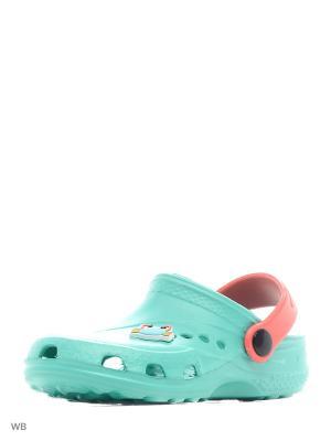Сабо Дюна. Цвет: светло-зеленый, коралловый, белый