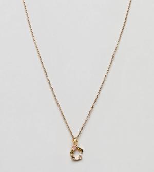Bill Skinner Ожерелье с подвеской. Цвет: золотой