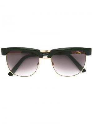 Солнцезащитные очки в квадратной оправе Cazal. Цвет: чёрный