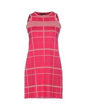 Короткое платье NEERA. Цвет: фуксия