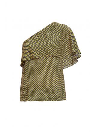 Блуза 169806 Demurya Collection. Цвет: разноцветный