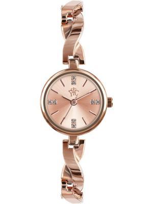 Часы РФС. Цвет: золотистый, розовый