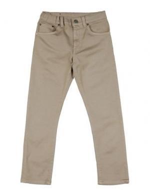 Джинсовые брюки CAPITALE CREATIVO. Цвет: бежевый