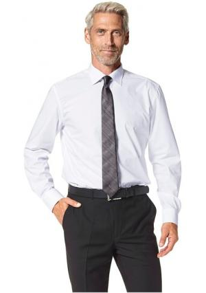 Комплект: рубашка, галстук и платок STUDIO COLETTI. Цвет: белый