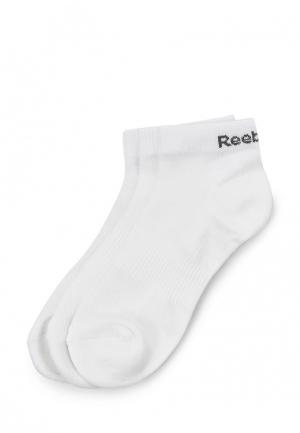 Комплект носков 3 пары Reebok. Цвет: белый