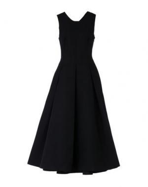 Длинное платье MARTIN GRANT. Цвет: черный