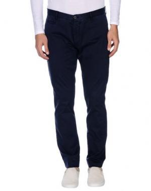 Повседневные брюки ALTEA. Цвет: темно-синий