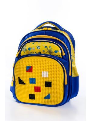 Рюкзак Vittorio Richi. Цвет: синий, желтый
