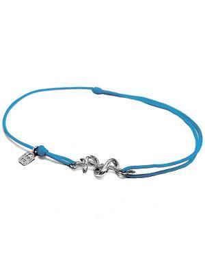 Посох Асклепия Amorem. Цвет: голубой, серебристый