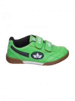 Кроссовки Lico. Цвет: зеленый, белый, темно-синий