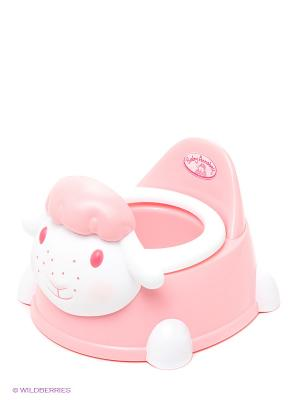 Горшок для куклы Овечка ZAPF. Цвет: розовый