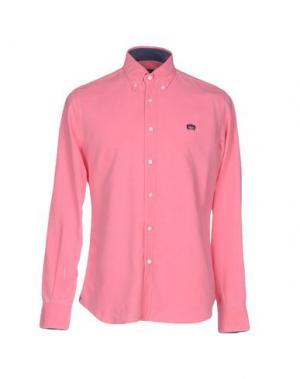 Pубашка INGRAM. Цвет: розовый