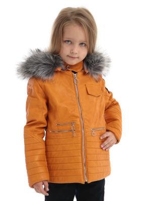 Куртка TOPKLAER. Цвет: рыжий