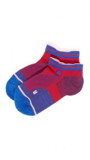 Спортивные низкие носки Superset STANCE. Цвет: пурпурный