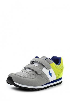 Кроссовки Polo Ralph Lauren. Цвет: серый