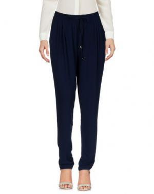 Повседневные брюки MOLLY BRACKEN. Цвет: темно-синий