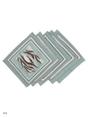 Набор платков носовых детских Римейн. Цвет: серый, черный