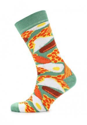 Носки Topman. Цвет: зеленый