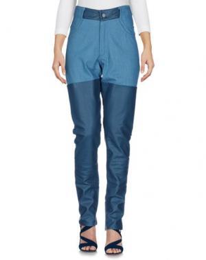 Джинсовые брюки TELFAR. Цвет: пастельно-синий