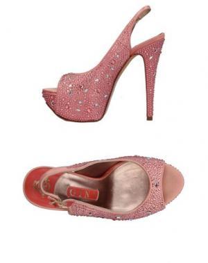 Сандалии GINA. Цвет: розовый
