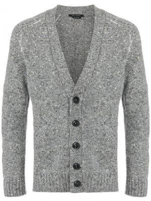 Классический кардиган Marc Jacobs. Цвет: серый
