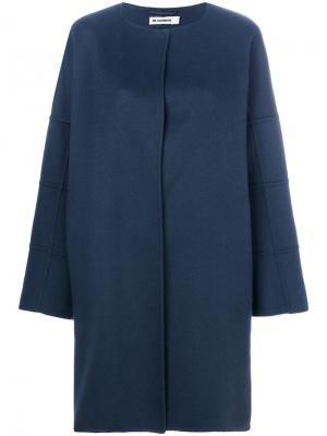 Пальто Copenhagen Jil Sander. Цвет: синий