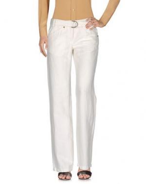 Повседневные брюки MURPHY & NYE. Цвет: слоновая кость
