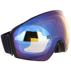 Маска для сноуборда  Jetpack Black Gloss/Yellow Chrome Von Zipper. Цвет: черный