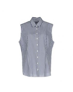 Pубашка VAN LAACK. Цвет: темно-синий