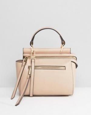 Dune Маленькая сумка на плечо Dinidamille. Цвет: розовый