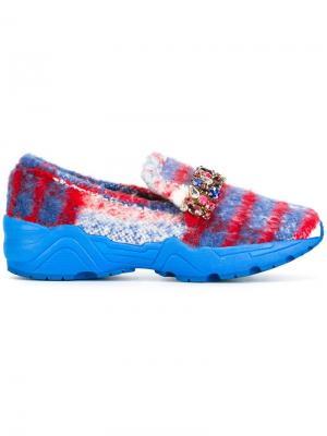 Декорированные кроссовки Suecomma Bonnie. Цвет: синий