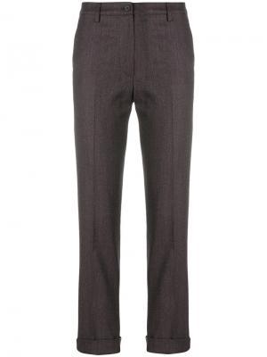 Узкие брюки Gentry Portofino. Цвет: красный
