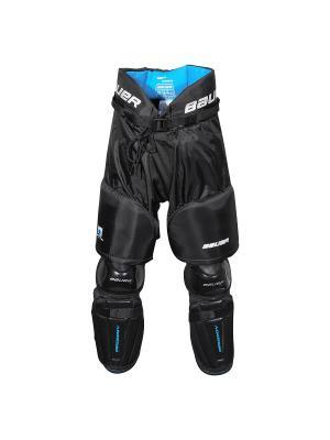 Защита низ BAUER PRODIGY Детская. Цвет: черный, голубой, белый