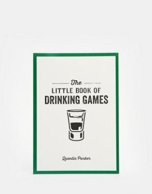Books Книга Little Book of Drinking Games. Цвет: мульти