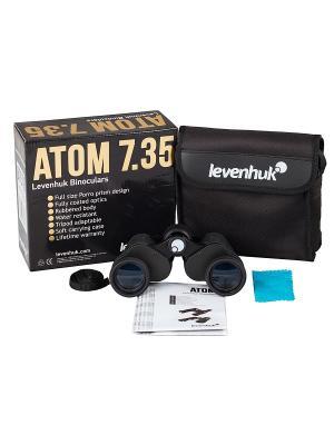 Бинокль Atom 7x35 Levenhuk. Цвет: черный