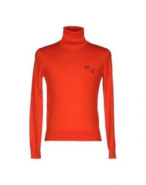 Водолазки DSQUARED2. Цвет: оранжевый