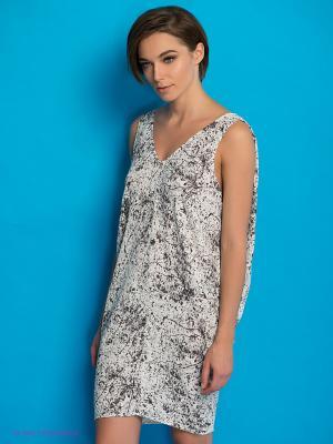 Платье PEPE JEANS LONDON. Цвет: белый, черный