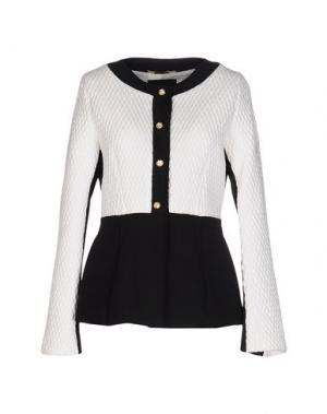 Пиджак CHIARA D'ESTE. Цвет: белый