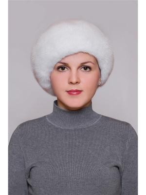 Шапка Slava Furs. Цвет: молочный