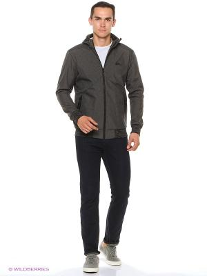 Куртка Quiksilver. Цвет: серый