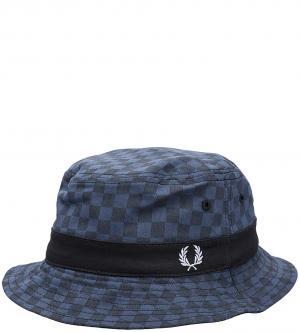 Шляпа Fred Perry. Цвет: клетка, синий