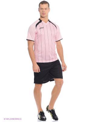 Комплект (футболка+шорты) SET OFFSIDE ASICS. Цвет: розовый, черный