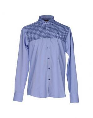 Pубашка JEY COLE MAN. Цвет: небесно-голубой