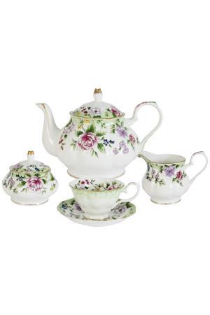 Чайный сервиз из 15 предметов Colombo. Цвет: мультиколор