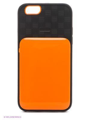 Чехол для iphone 6 WB. Цвет: оранжевый, черный